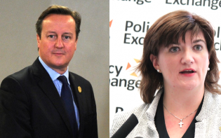 Prime Minister David Cameron and Education Secretary Nicky Morgan discuss the modification of the school curriculum for Sex Education studies.Credit@WikimediaCommons.Flickr.