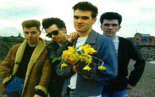 The four members of Bitish band The Smiths.Credit@flickr.com