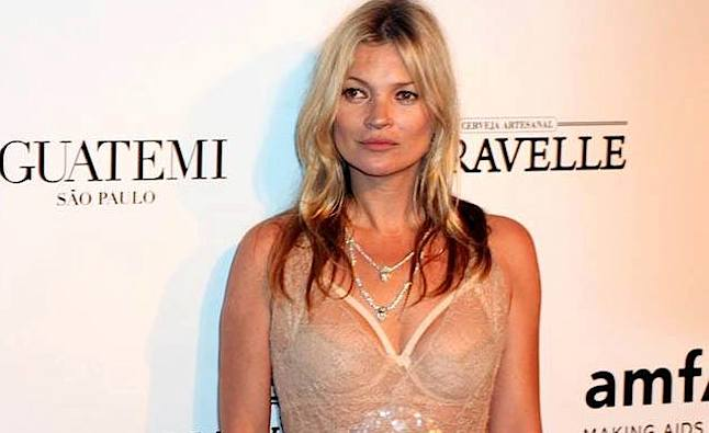 Kate Moss attending an event.Credit@flickr.com