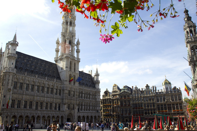 The main square in Brussels.Credit@Weldon.Kennedy.flickr.com