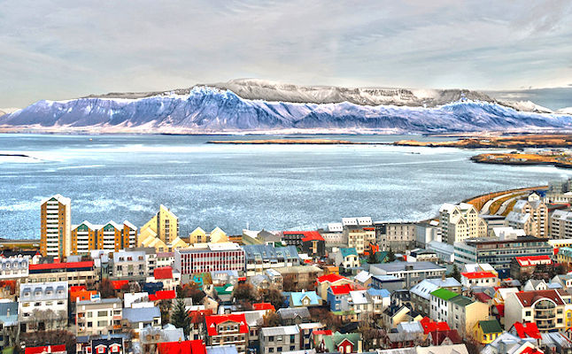 Reykjavic Panorama credit@AllenWatkin via commons.wikimedia