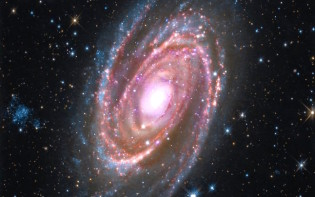 A spiral galaxy following the rules of the golden spiral.Credit@NASA.gov