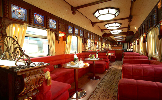 Trans-Siberian carriage. Credit@www.flickr.com
