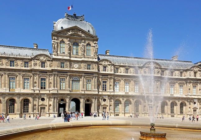 Louvre museum. Credit@commons.wikimedia.org