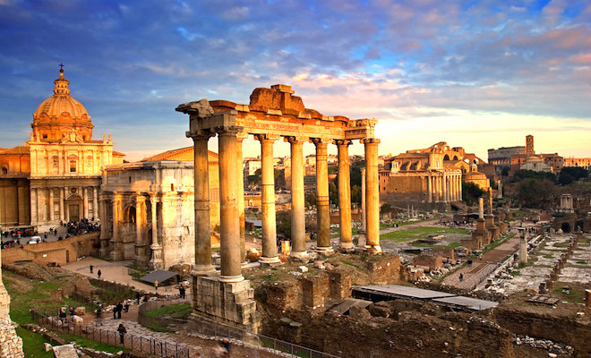 Ruins of ancient Rome. Credit@flickr.com
