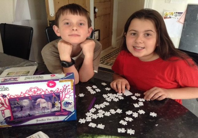 My brother and I love 3D puzzles!