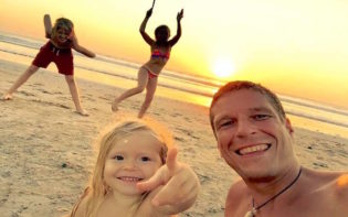 Family fun at the beach. Credit@theSundancefamily.com