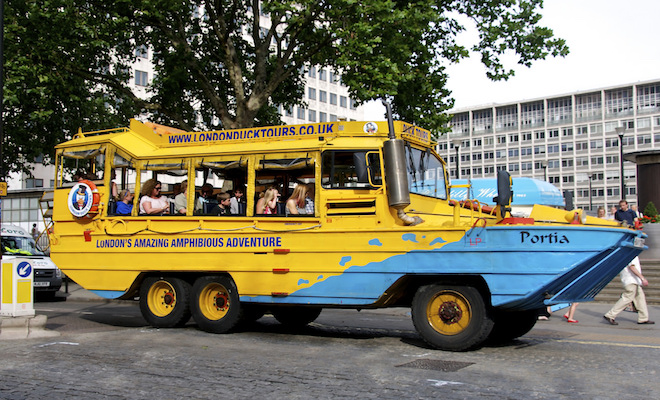 Duck tours. Credi@flickr.com