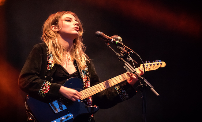 Wolf Alice lead singer Credit@David Lee via. Flickr