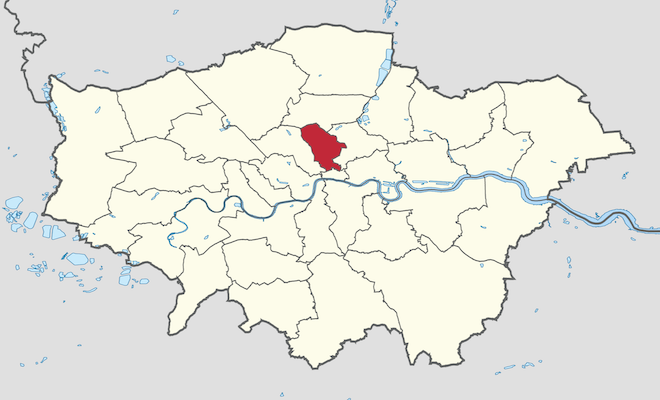 Islington in Greater London. Credit@wikimedia commons