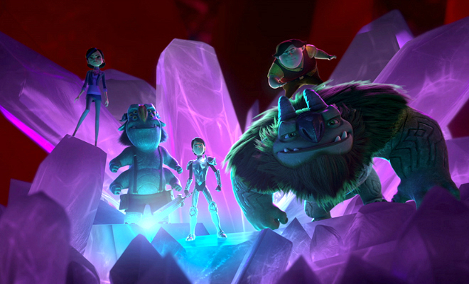 Jim Lake Jr stumbles upon a mysterious world of trolls in Trollhunters credit@DreamWorksAnimation