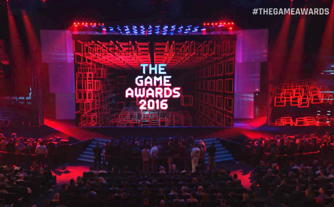 The Game Awards 2016 preparing to announce another round of winners credit@TheGameAwards2016