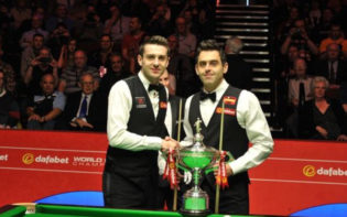 The finalists, Mark Selby and Ronnie O'Sullivan. Credit @pinterest.com.