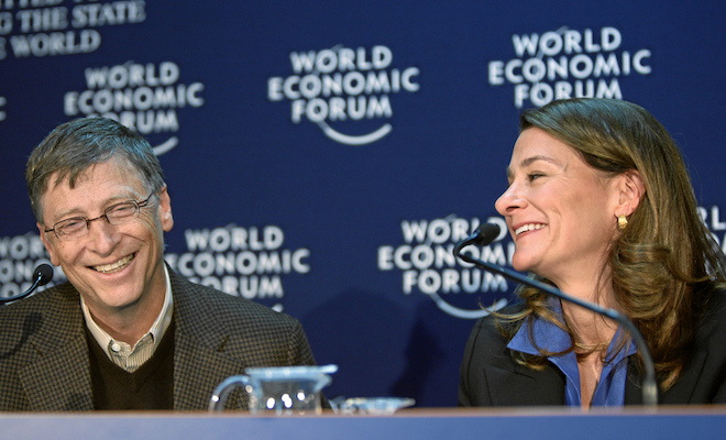 Bill & Melinda Gates. Credit@flickr