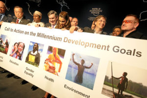 Millennium Development Goals. Credit@flickr