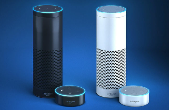 The personal assistant Alexa debuted with the Amazon Echo. Credit@Amazon.com, Inc. and its affiliates