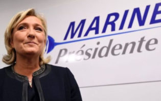 National Front Presidential candidate Marine Le Pen. Credit @pinterest.com.