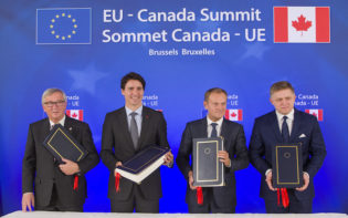 The 16th EU-Canada summit, Bruxelles, Belgium. Credi@flickr