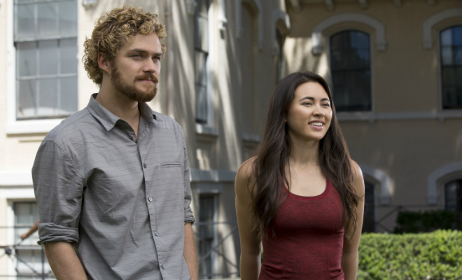 Danny Rand (Finn Jones) teams up with martial arts expert Colleen Wing (Jessica Henwick) for Iron Fist Credit@Netflix.MarvelEntertainment