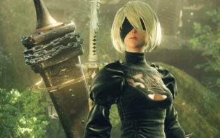 The story of Android 2B takes centre stage in Platinum Game's latest adventure, Nier Automata Credit@PlatinumGames Inc.