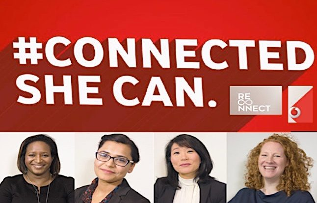 """Vodafone's """"ReConnect"""" programme is designed to attract talented women who have taken a career break. Credit@vodafone.com"""