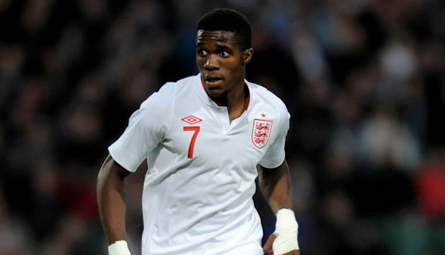 Wilfried Zaha Crystal Palace England Football