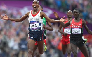 London 2012 - Athletics - Men's 5000m Final - Mo Farah