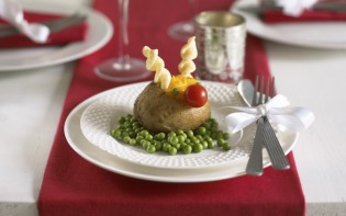 Rudolph potato from Annabel's Essential Guide to Feeding Your Baby and Toddler