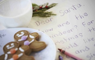 Children's Letter to Santa Claus For Christmas