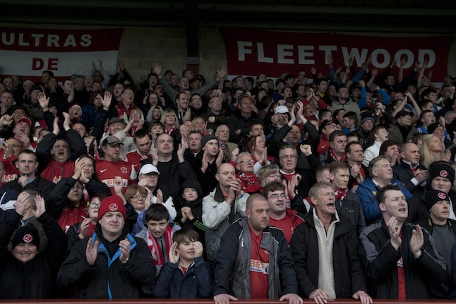 UK - Fleetwood - Non-League Football Match