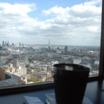 The view of the city and Shard from Paramout. Photo courtesy: Jonathan Beagle