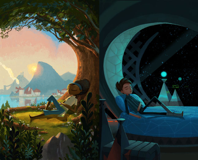 Digital Revolution, Broken Age, Image courtesy of Nathan Bagel Stapley.