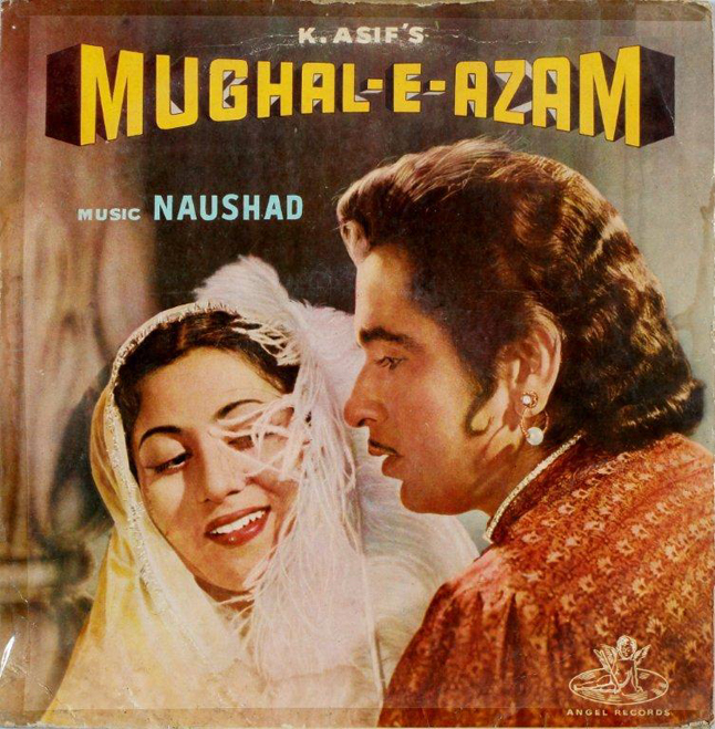 Mughal-e-Azam, LP, 1960, Photo courtesy Conferro Auction