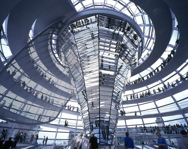 The Reichstag by Norman Foster (c) Nigel Young