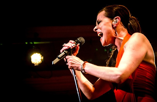 Back with a bang: Lisa Stansfield. Pic credit: The Queen's Hall via flickr