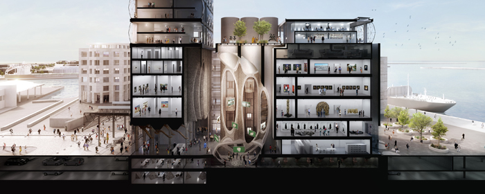 Section Zeitz MOCAA @HeatherwickStudio