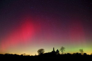 Northern Lights in Britain Credit @Brian Tomlinson via Flickr.com