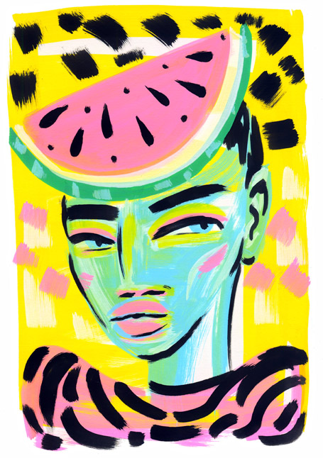Melons On My Mind © Lynnie Zulu