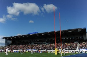Home for Saracens is Hendon's Allianz Park credit@twitter