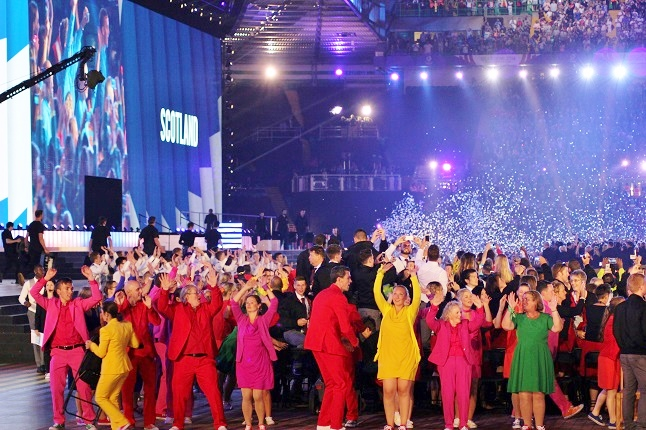 The Opening Ceremony of the Games was a party of celebration. Credit@Cameron King via flickr.com