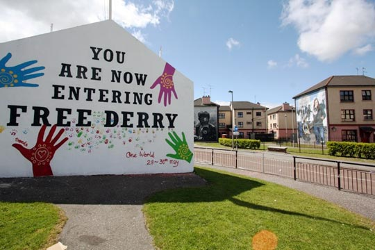 Located within the city of Derry/Londonderry Credit@lonelyplanet