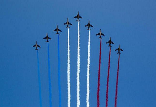 Fly past on Bastille day credit@United Nations Photo via Flickr.com