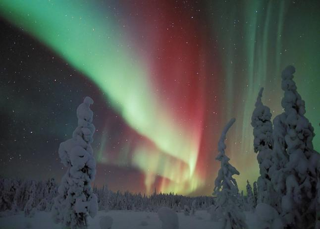 Northern Lights.  Credit@Visit Finland via Flickr.com