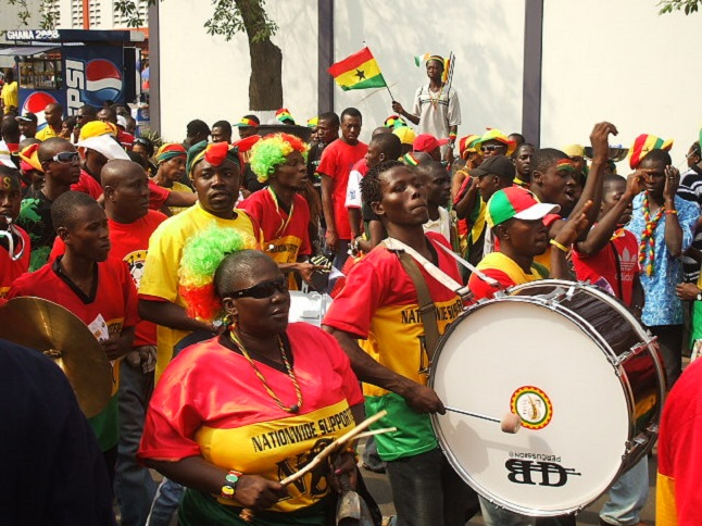 Supporting the national football team credit@Oluniyi Ajao via flickr.com