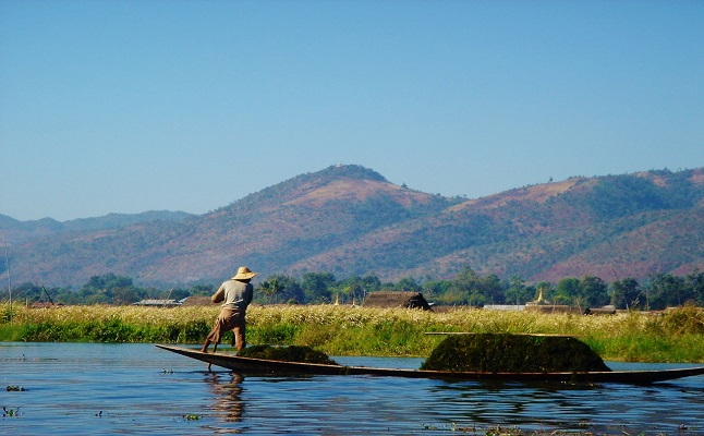 The stunning landscape of  Burma. Credit@OmarElsayed