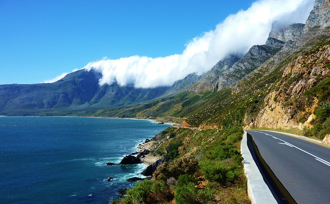 The Garden Route along South Africa's coast. Credit@Christopher Griner