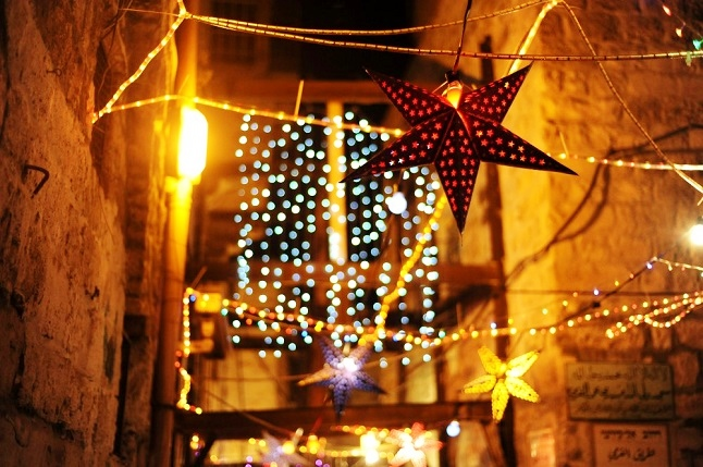 Decorations and lanterns light up streets during Ramadan. Credit@Guillaume Paurmier via flickr.com