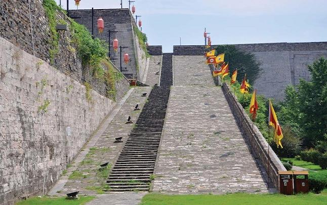 Nanjing city wall. Credit@travelandleisureasia.com