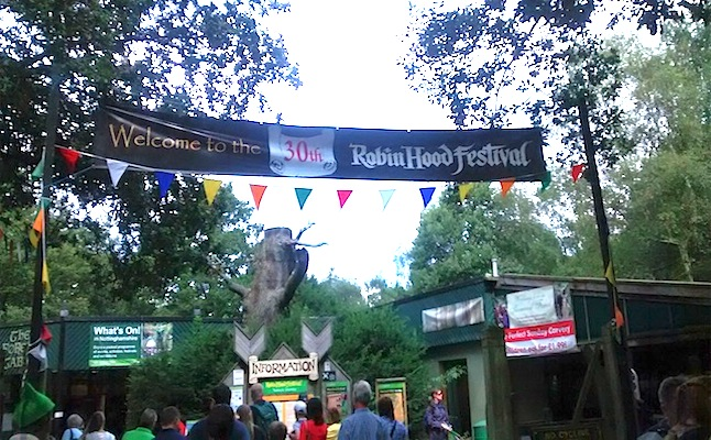 Welcome to the Robin Hood Festival!