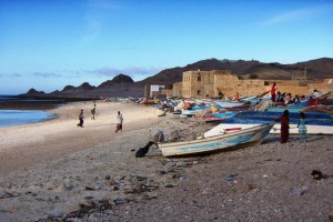 Socotra fishing village credit@Gerry & Bonni via flickr.com